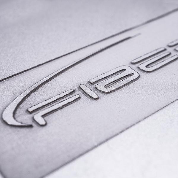 3D marking aluminium