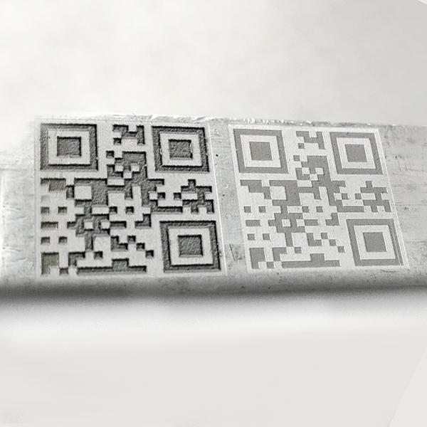 Aluminium deep marking